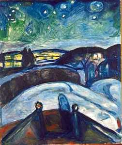 Munch - Starry Night